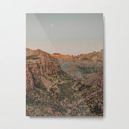 Zion National Park V / Utah Desert Metal Print
