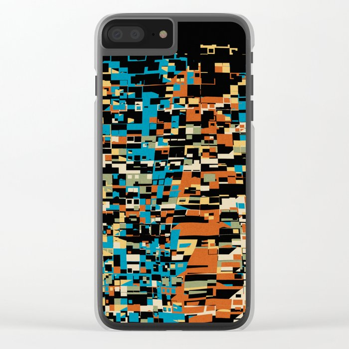 City At Night Clear iPhone Case