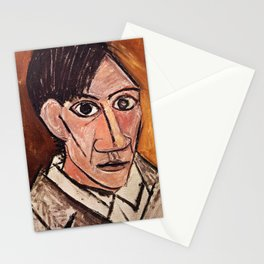 Pablo Picasso Self Portrait Stationery Cards