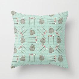 Pin Cushion Needles Sewing Hand Crafts Throw Pillow