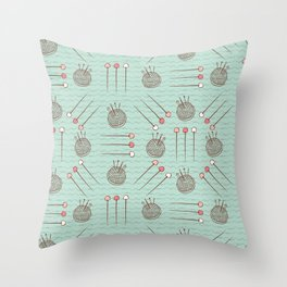 Pin Cushion Needles Sewing Hand Crafts Throw Pillow