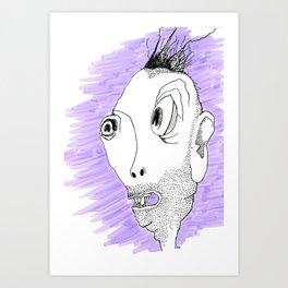 5 O'clock Shadow Art Print