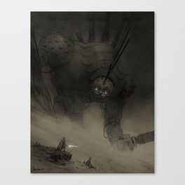 Wooden Giant Canvas Print