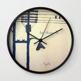 Let there be light... Wall Clock