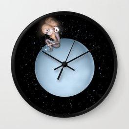 Lost in a Space / Uranusia Wall Clock