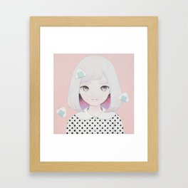 Onigiri Portrait Framed Art Print