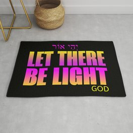 Let there be light Rug