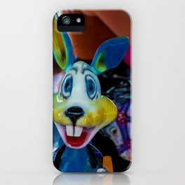 The colourful rabbit iPhone Case