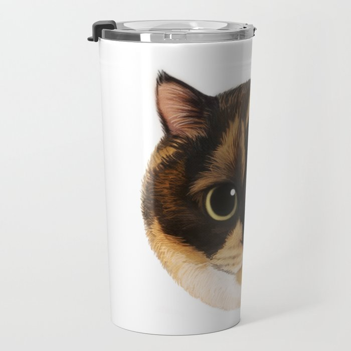 Round Cat - Lang Travel Mug