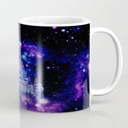 Celestial Palace : Purple Blue Enchanted Castle Coffee Mug