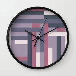 Roads Wall Clock