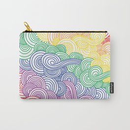 Rainbow Doodles Carry-All Pouch