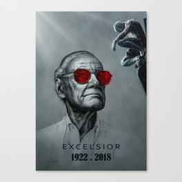 Excelsior - Stan Canvas Print