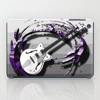 bass iPad Cases featuring Music - Bass by yahtz designs