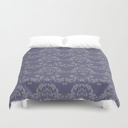 Repeating pattern in muted tones Duvet Cover