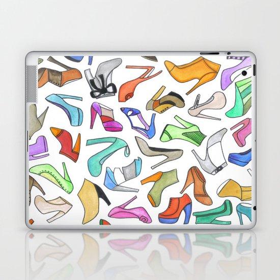 high heel Laptop & iPad Skin