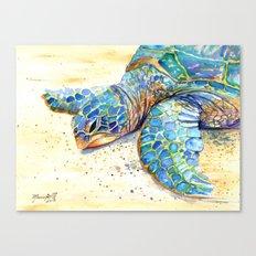 Turtle at Poipu Beach 4 Canvas Print