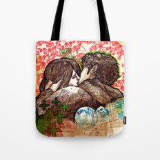 Spring that hasn't come yet Tote Bag