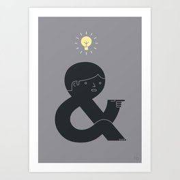 An Idea Art Print