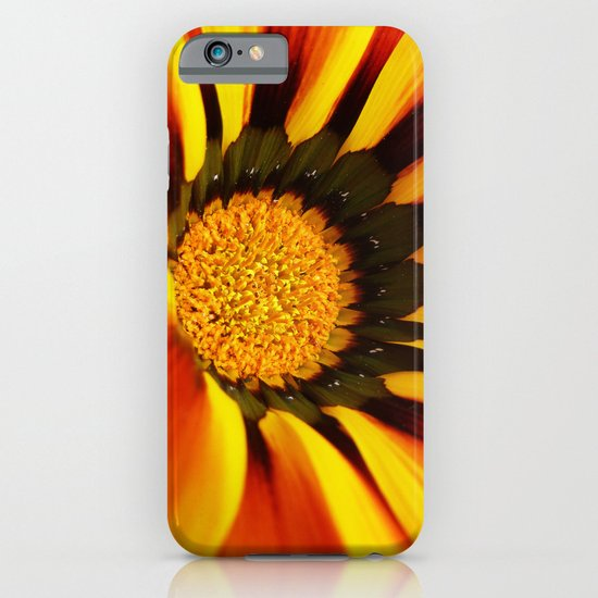 Orange flower iPhone & iPod Case