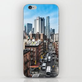 chinatown in nyc iPhone Skin