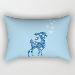 first snow Rectangular Pillow