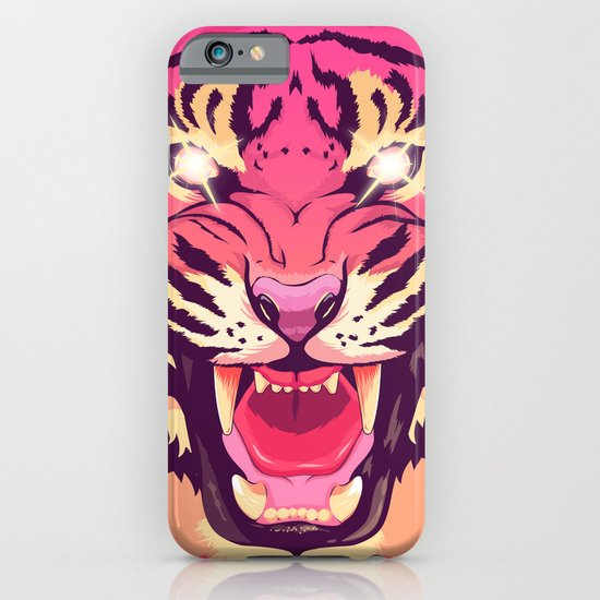Cool angry tiger iPhone & iPod Case