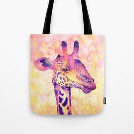 Giraffe dreams Tote Bag