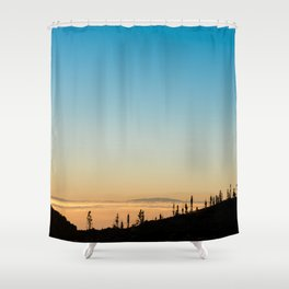 Samara Mountain Shower Curtain