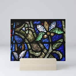St. Denis Stained Glass 1 Mini Art Print