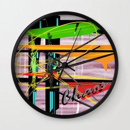Choas is Abstract Wall Clock
