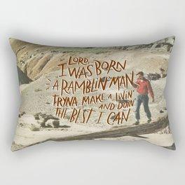 Ramblin' Man Rectangular Pillow