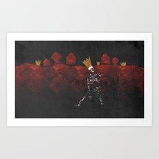 King Nothing Art Print