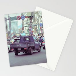 Traffic In Taipei Stationery Cards
