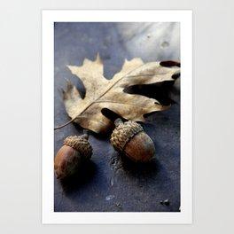 Under the oak Art Print