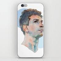 messi iPhone & iPod Skins featuring Lionel Messi by Megan Diño