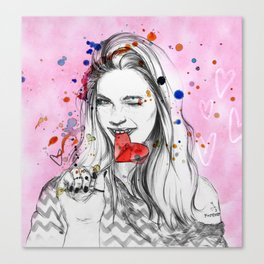 Candy Sweet Canvas Print