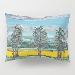 Yellow fields of the Loire Valley, France Pillow Sham