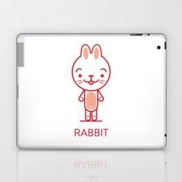 #34 Rabbit Laptop & iPad Skin