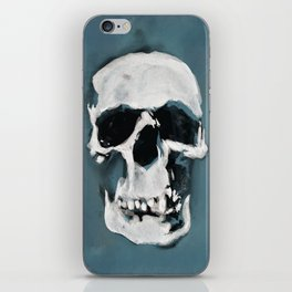 The Sherlock Skull iPhone Skin