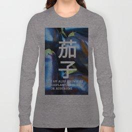 BRINJAL Long Sleeve T-shirt
