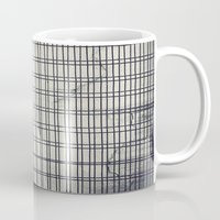 grid Mugs featuring Grid by farsidian