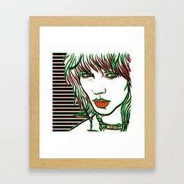 Freja Framed Art Print