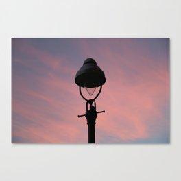 peach street light Canvas Print