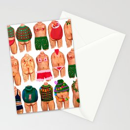 Christmas Gang Stationery Cards