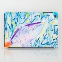 spaceship iPad Cases featuring Spaceship by SorinaBogiu