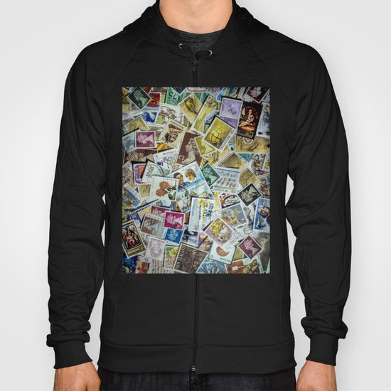 Postage Stamps Hoody