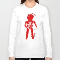 body Long Sleeve T-shirts featuring body by sandra sisofo