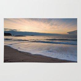 Sandwood Bay at Sunset Rug
