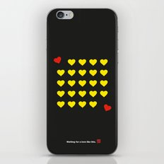Waiting for a love like this. iPhone & iPod Skin